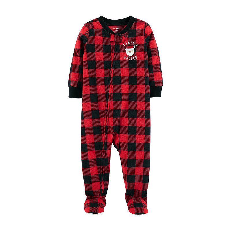 0bee63e1f Carter's Holiday One Piece Pajama - Toddler Boys | Products in 2019 ...