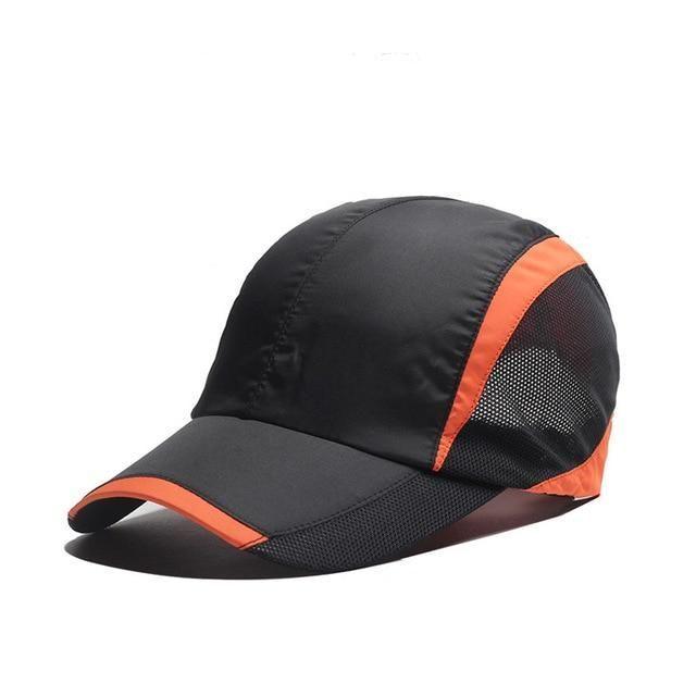 93868403f8c MNKNCL Summer Baseball Cap Quick Dry Cooling Sun Hats Flexfit Sports Caps  Mesh Hat For Golf