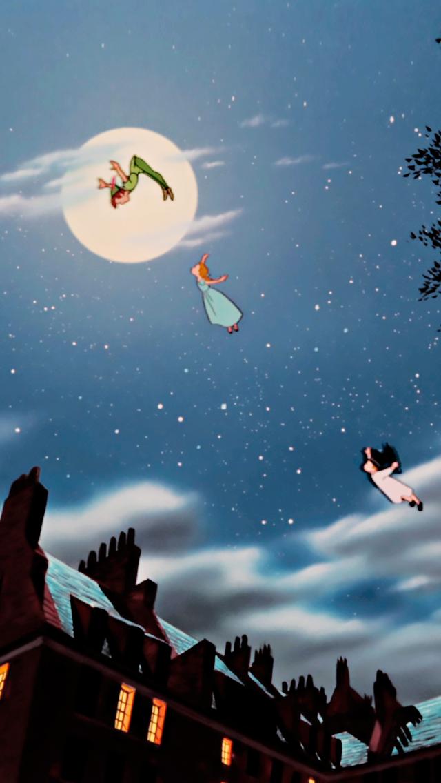 Peter Pan Aesthetic Wallpaper