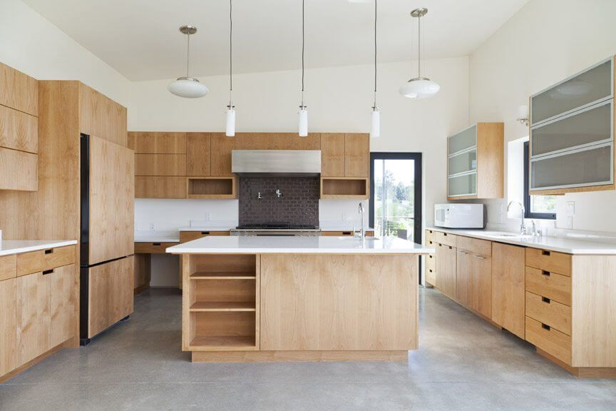 Eco-friendly, sustainably-sourced kitchen cabinets ...
