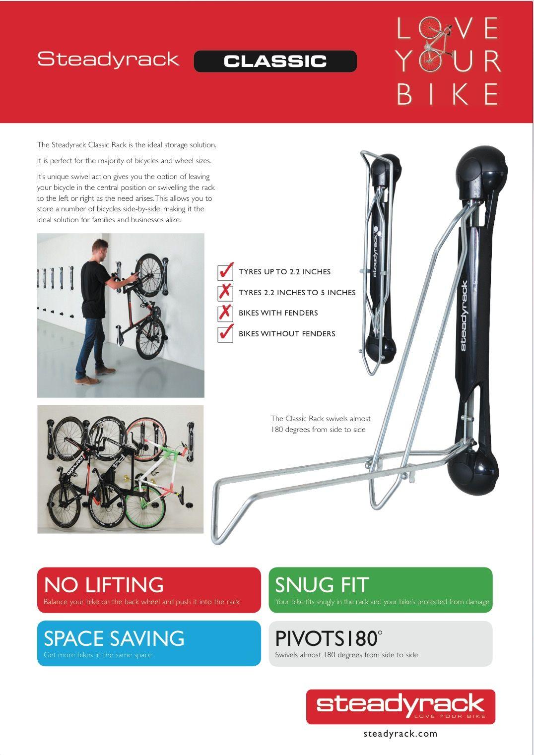 The Steadyrack Bike Parking Rack Is The Best Bike Storage Solution