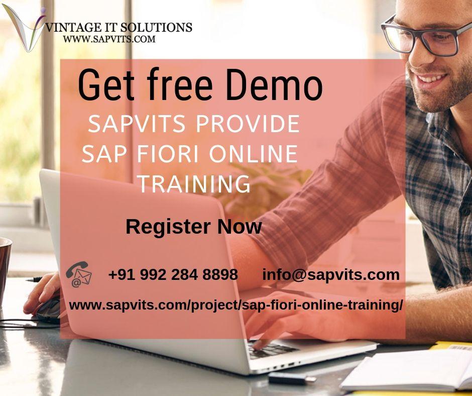 SAP Fiori Online Training Courses In India, UK, USA