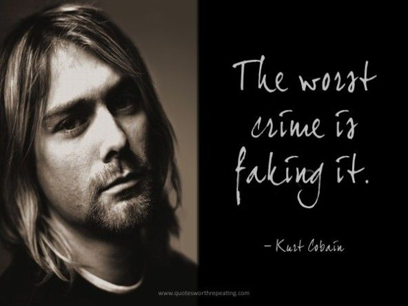 Kurt Cobain Nirvana Thee Cog Of Existence 3 Pinterest
