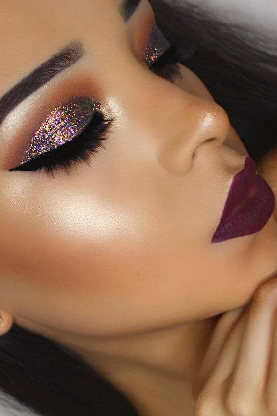 Photo of 25 Pretty Christmas Makeup Ideas To Make You Look Hot