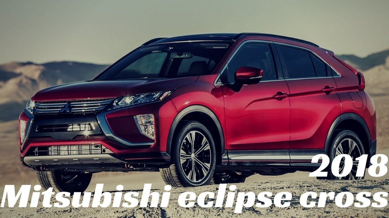 all new 2018 Mitsubishi Eclipse Cross_exterior and