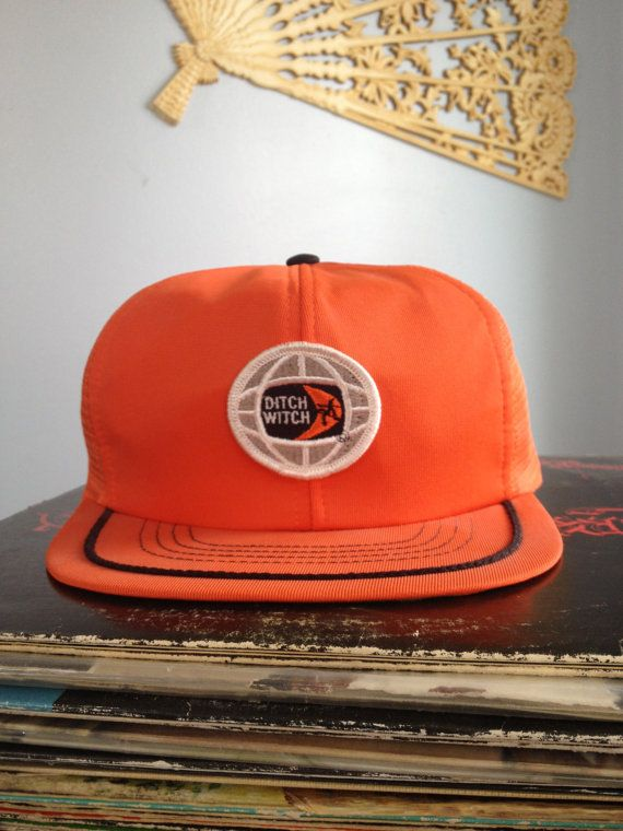 Old school Ditch Witch baseball cap ...  92a78cd8095