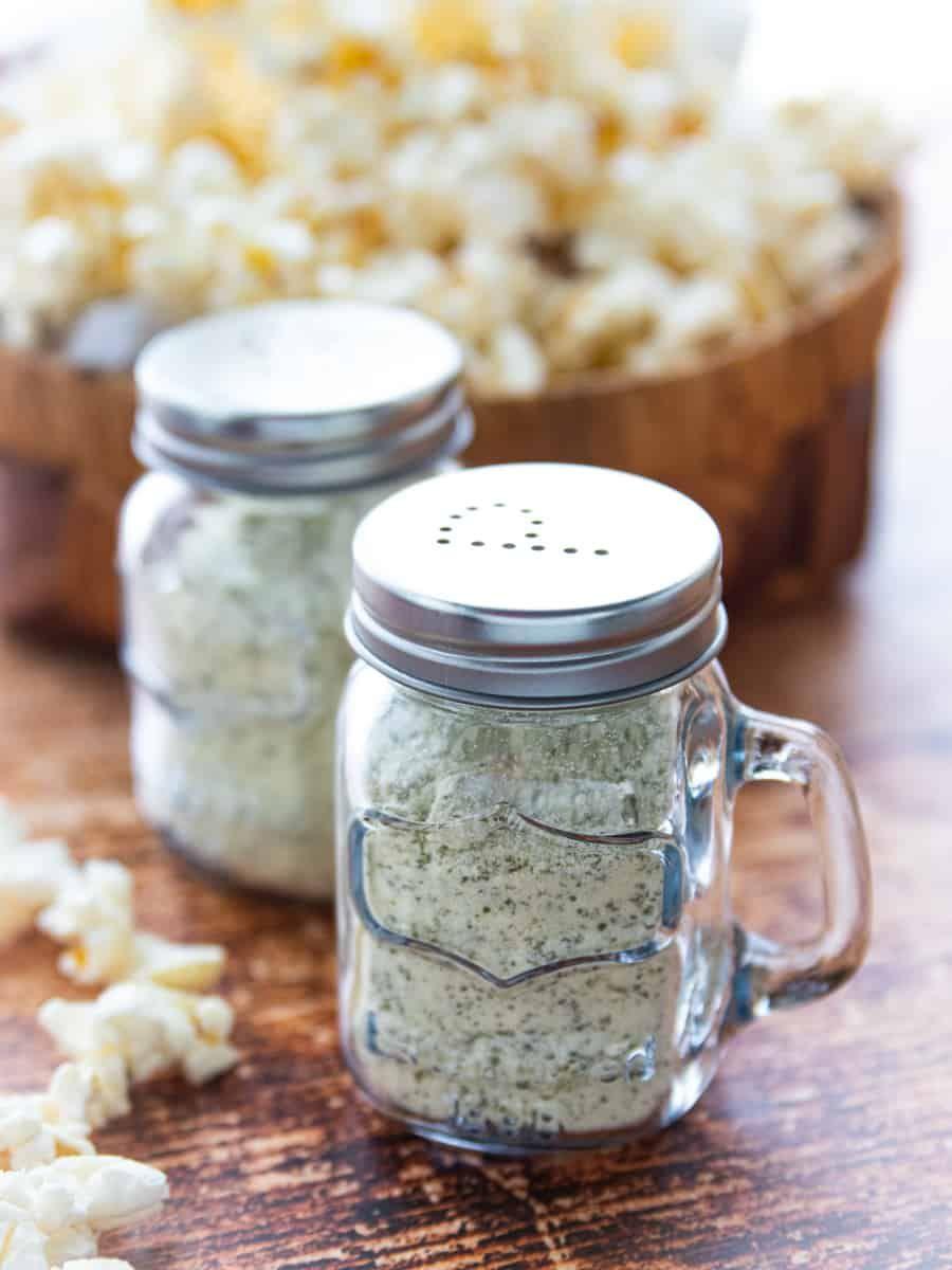 Diy homemade popcorn seasoning is healthy and easy to make