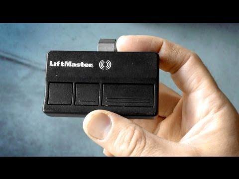 How To Program A Garage Door Remote Change Battery Liftmaster Chamberlain Garage Door Remote Garage Door Opener Remote Universal Garage Door Remote