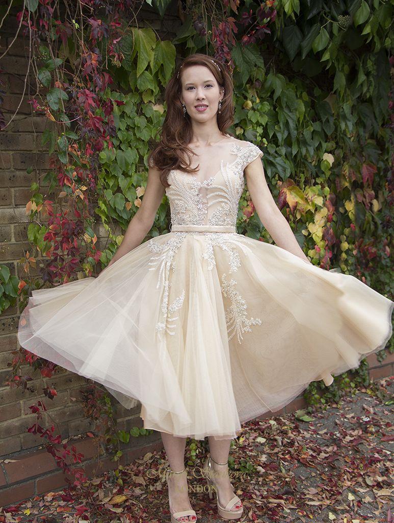 Margo stankova bridal style dorota short bridal