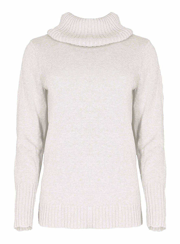 Nautica Women's Size Medium Soft Knit Turtleneck Semi Fitted ...