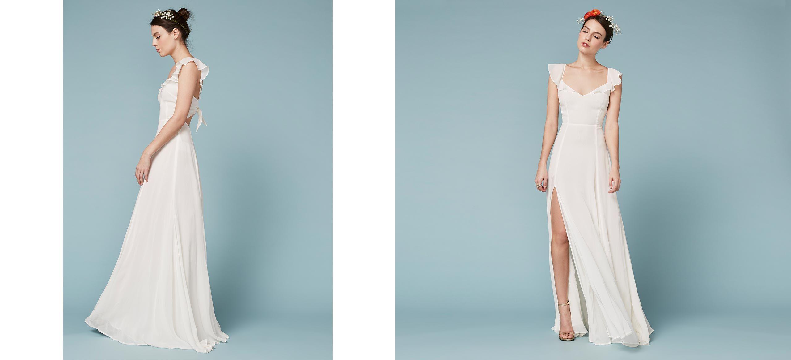 Julieta Dress | Anteojos, Vestidos de novia y Novios