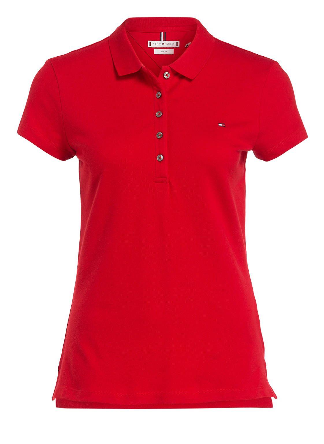 Piqué-Poloshirt NEW CHIARA von TOMMY HILFIGER bei Breuninger kaufen