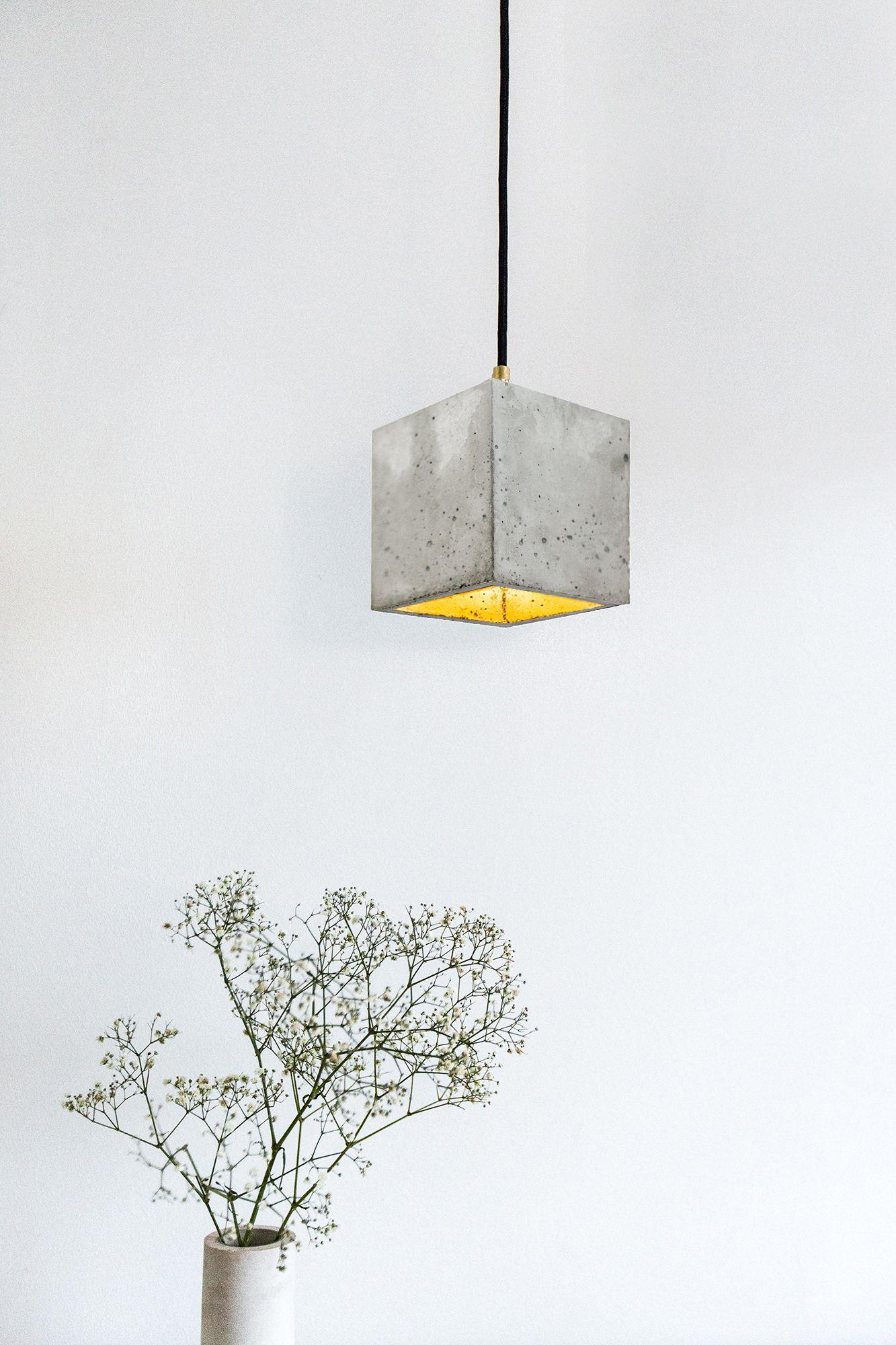 Beton Lampe beton #lampe #hängelampe design #leuchte [b1] gantstefan gant