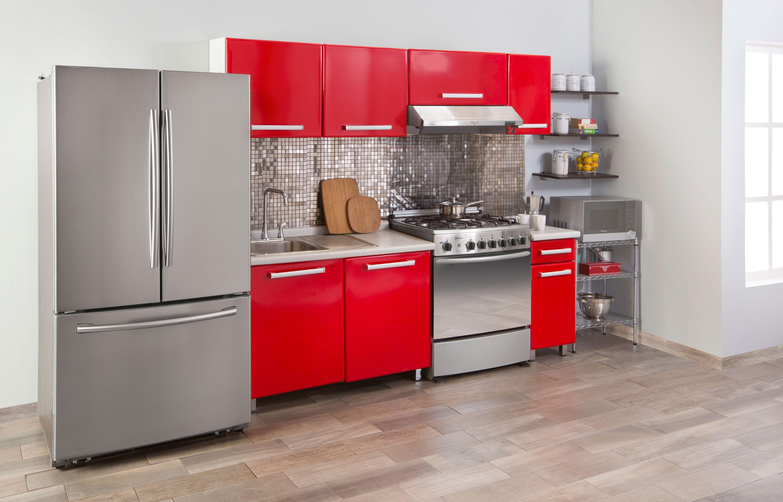Acabados de acero y vibrantes colores llenar n tu cocina - Acabados de cocinas ...