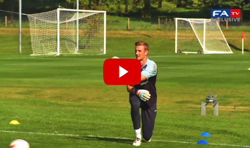 England U21 Goalkeeper Training Session. The best videos and articles on the web for football coaches.