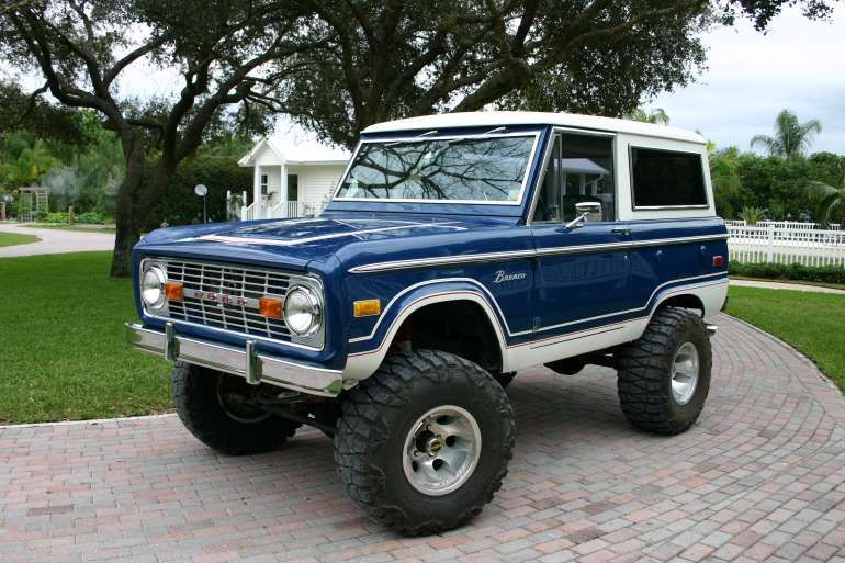Paint Color For The Bronco Someday Ford Bronco Classic