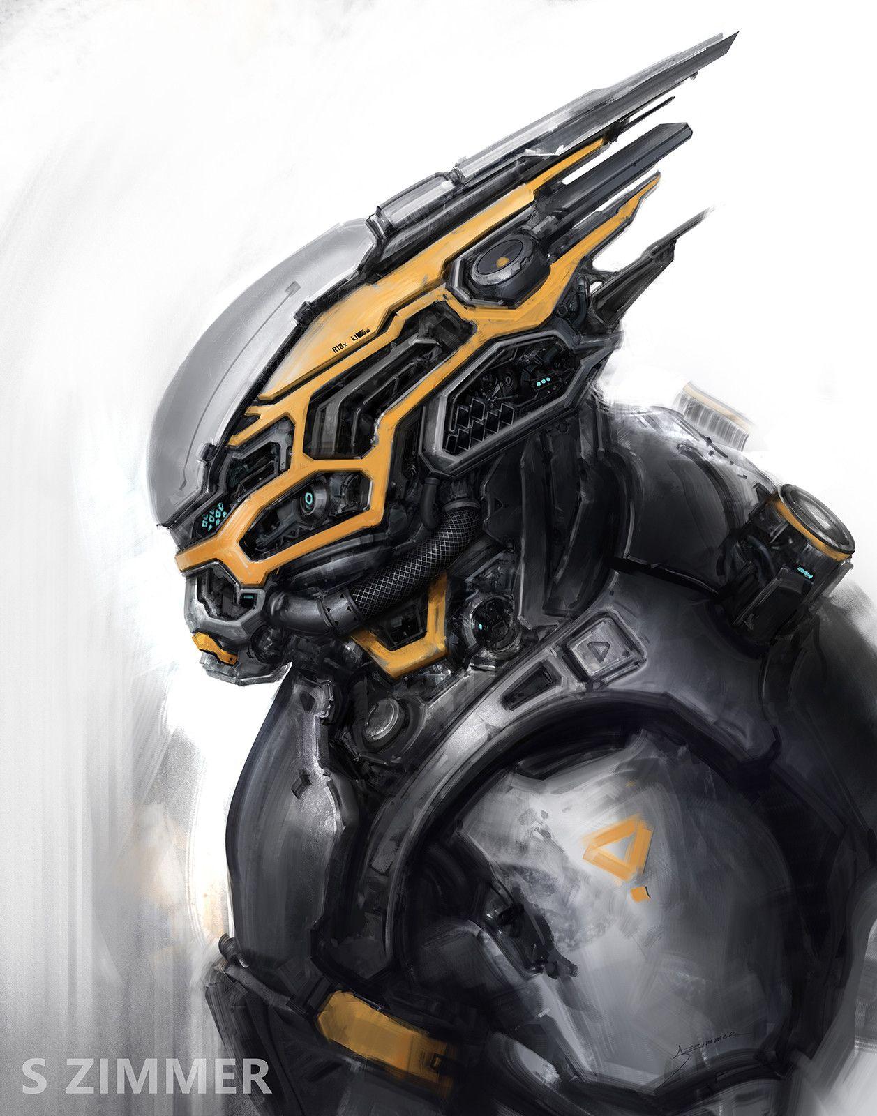 Pin By Brian Rich On Armor Robots Armor Sci Fi Armor Futuristic Armour