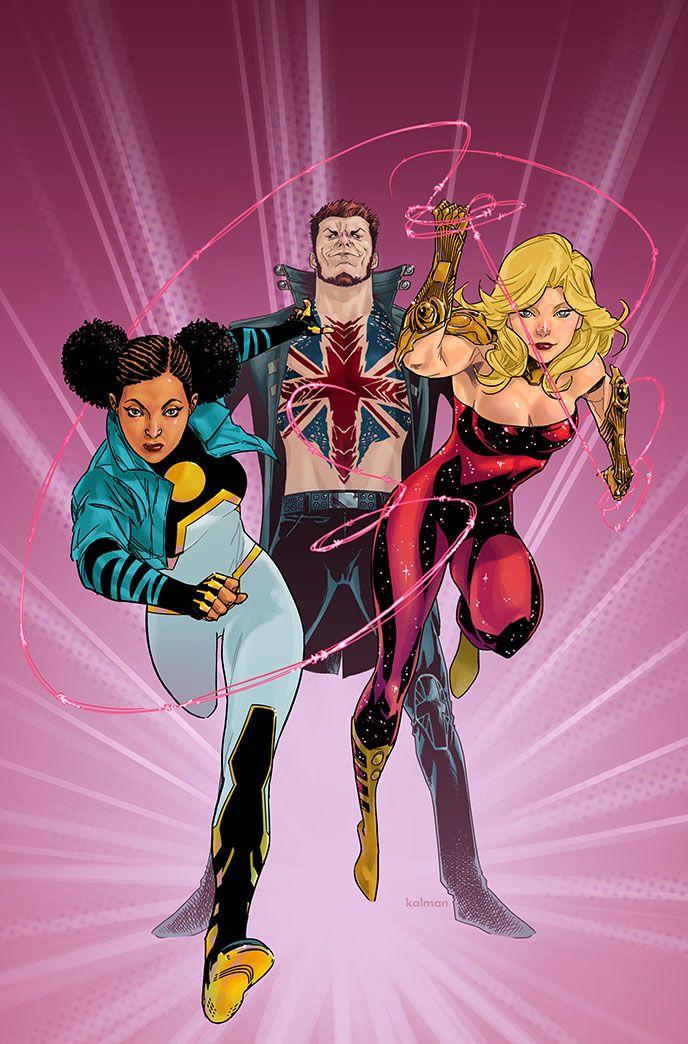 Teen Titans by Kalman Andrasofsky