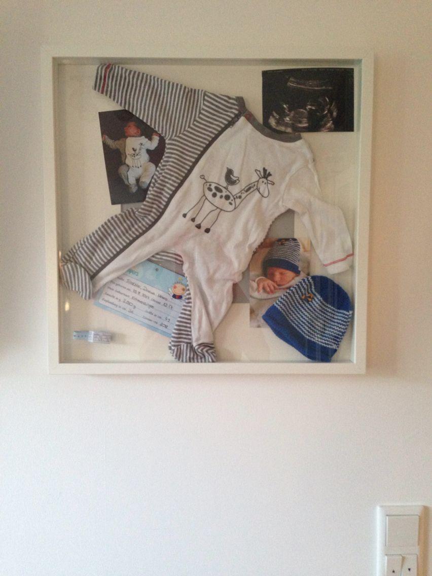 Ribba- Erinnerung- Rahmen Babys erste Stücke in Szene setzen! | Baby ...