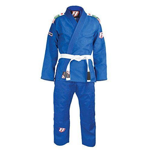 Singe Weave Uniform 450gm 100% Cotton. Durable & lightweight ideal for new students. No seams on jacket's back. Fully taped joints and reinforced splits. Full uniform complete with a white rank belt...