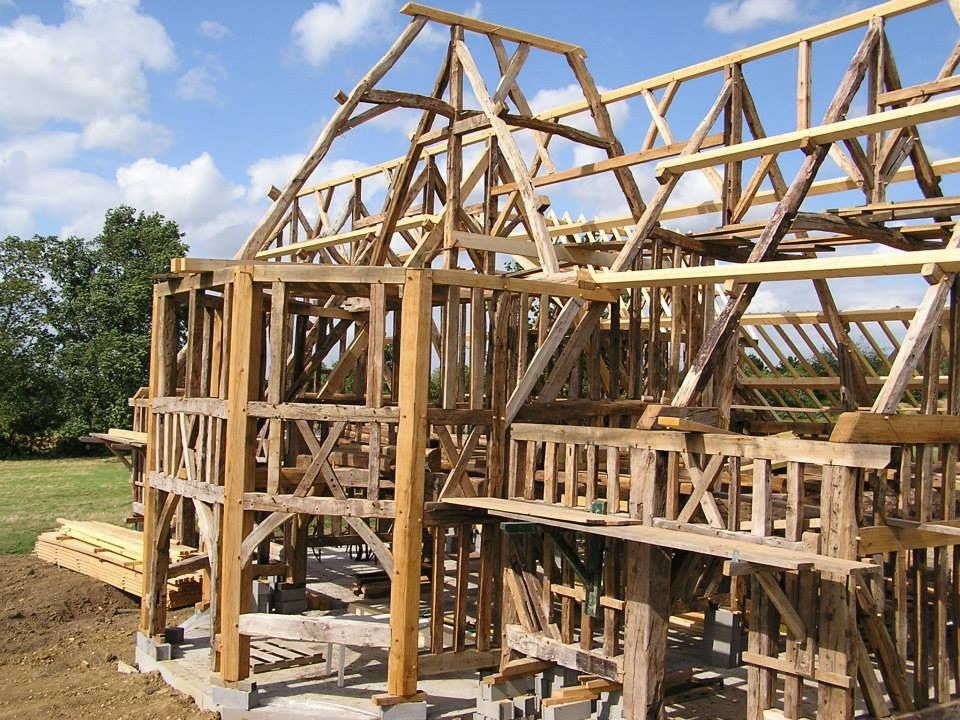 Roof Framing Geometry French Timber Framing Timber Frame Joinery Timber Frame Building Timber Frame Homes