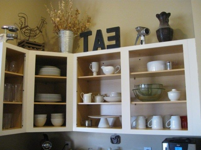 Kitchen Cabinets Without Doors Kitchen Kitchens Open Cabinet Cabinets Without Doors Removi Open Kitchen Shelves Kitchen Shelves Painting Kitchen Cabinets