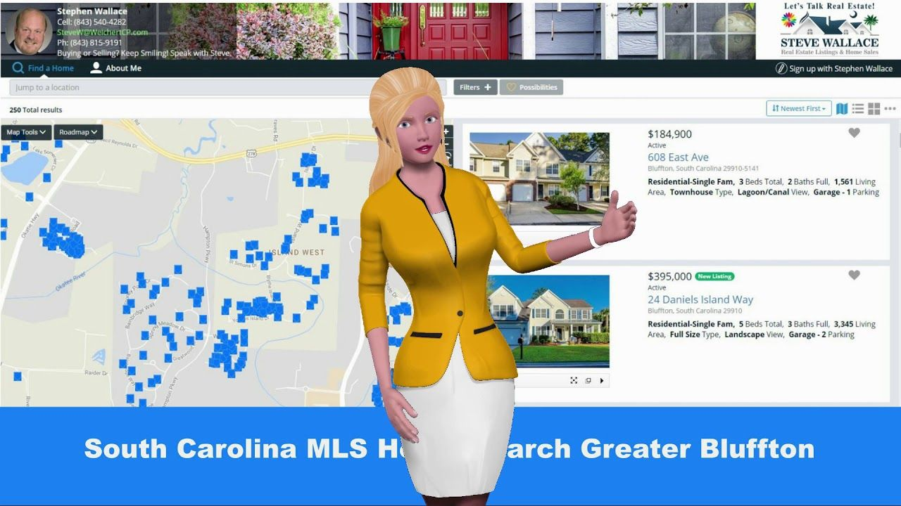 South carolina home search direct greater bluffton mls