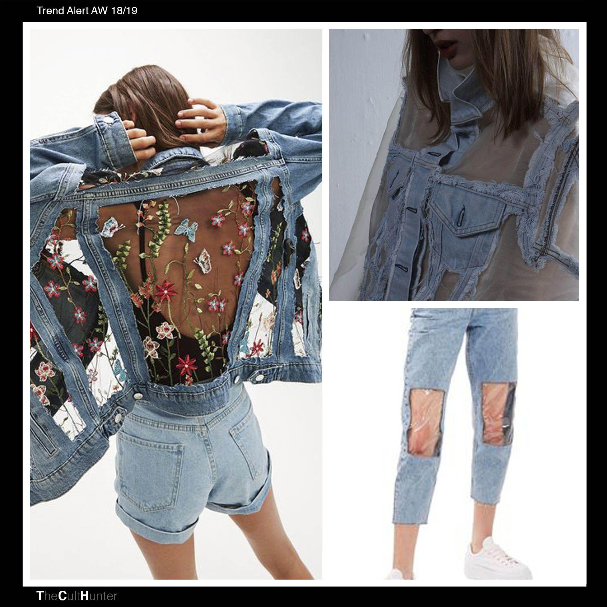 Tendencias Denim 18/19 | Moda otoño invierno 2018 | Pinterest