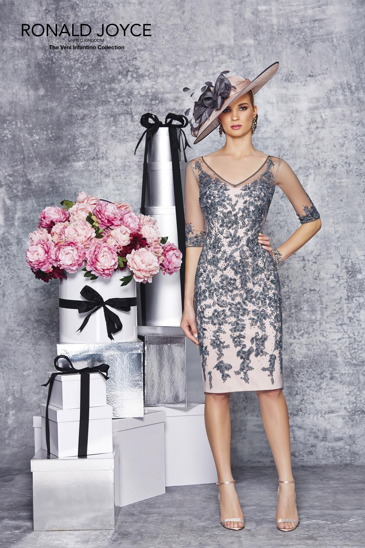 Cheap plus size motherus wedding dresses ronald joyce v neck