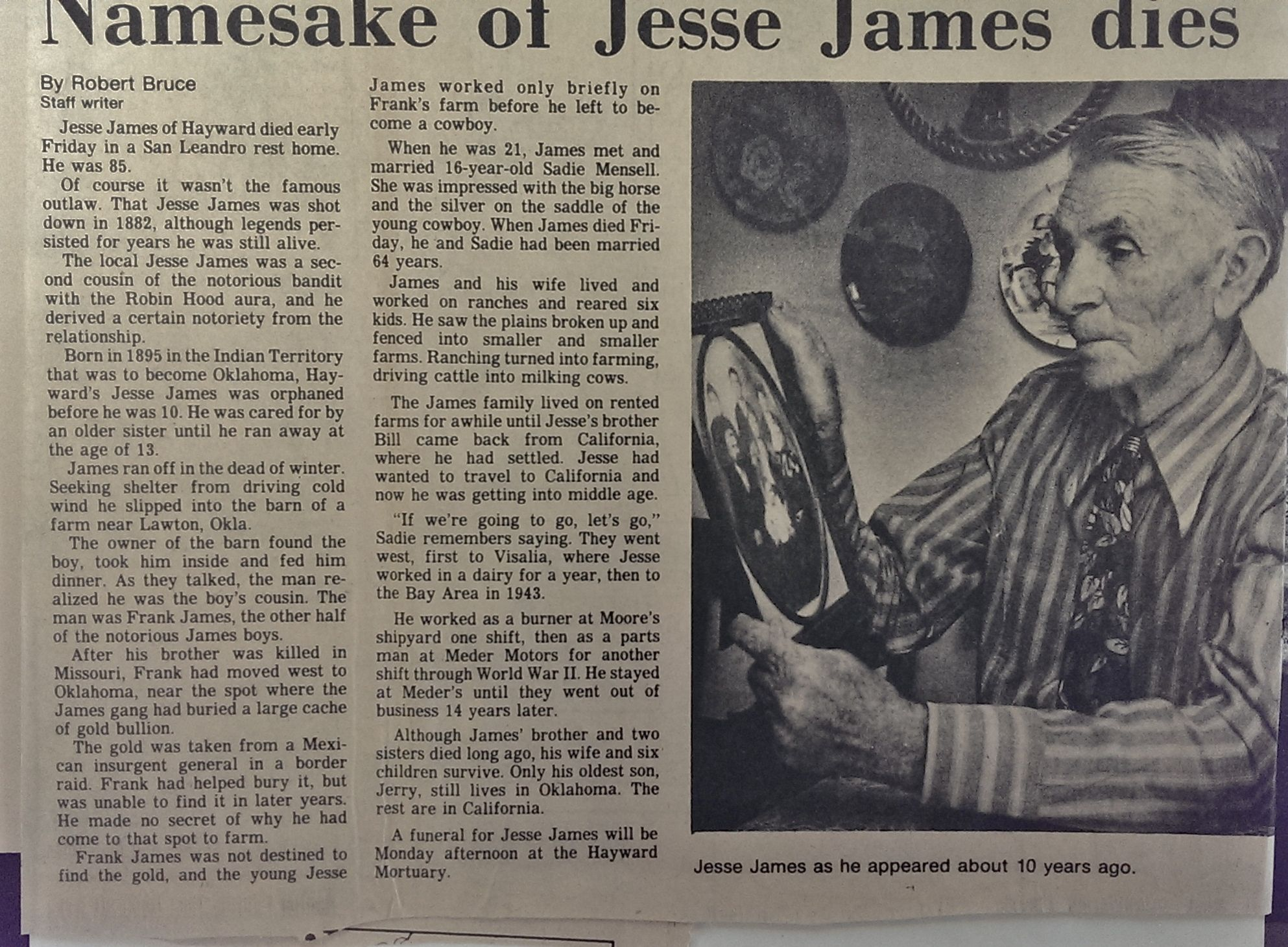 This Is My Great Grandfather Mike James