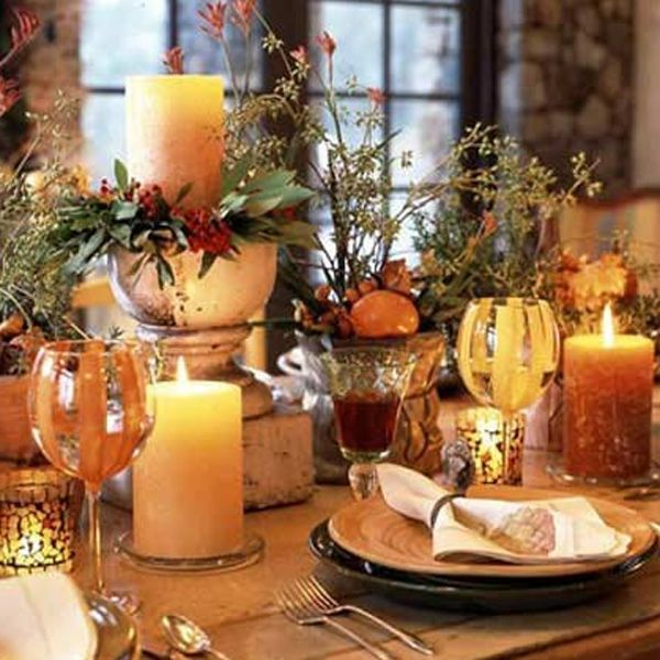 20 Gorgeous And Awesome Thanksgiving Table Decorations | Fantasy ...