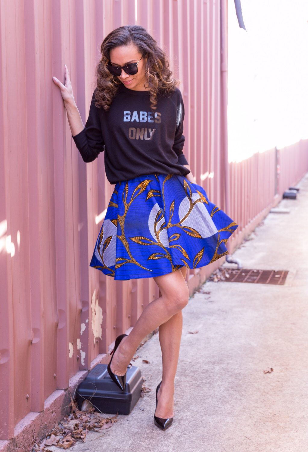 443fe3dfeb Skater Skirts are used all over the world from runway models to  thirty-something moms. let s look at some styles and how we can revamp them.