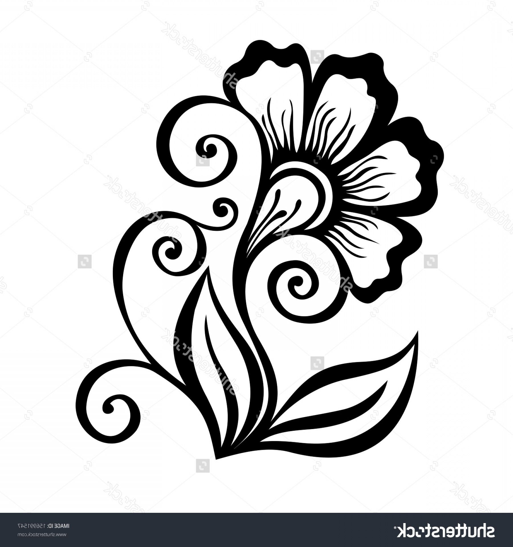 Simple Designs Of Flowers For Drawing Simple Flower Drawing