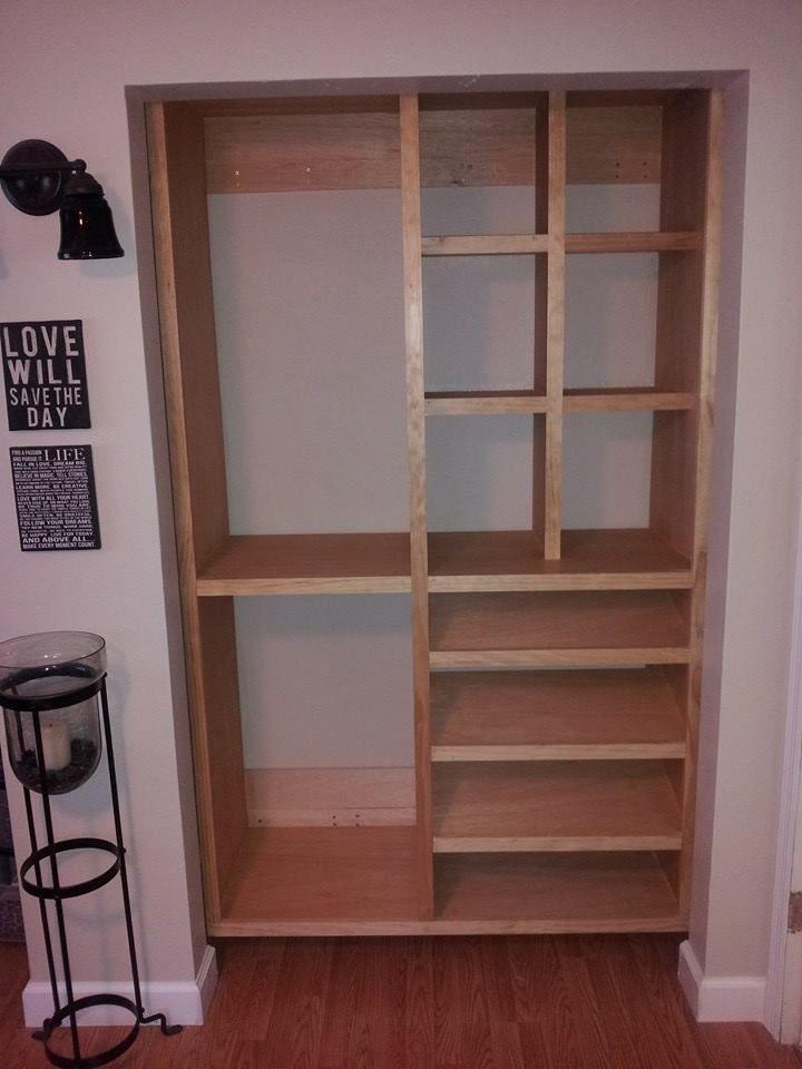 Kreg Jig® Project Closet BuiltIn I ️ Kreg Pinterest