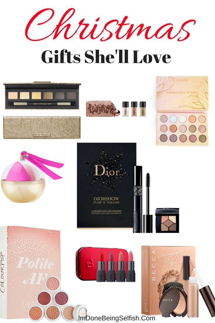 gift guide the makeup loverunder 30 gift ideas gifts for her