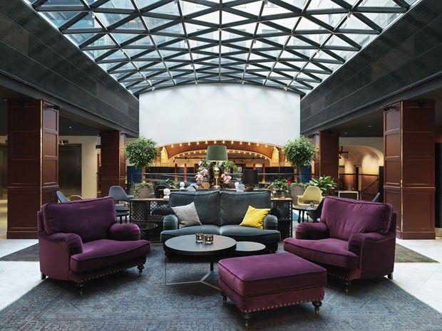Um hotel para celebrar a música Scandic Grand Central é atração em Estocolmo