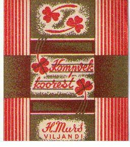Estonian candy wrappers from the 1920s-1930s. Thanks for the link, Pete!  http://kommipaberid.blogspot.co.uk/