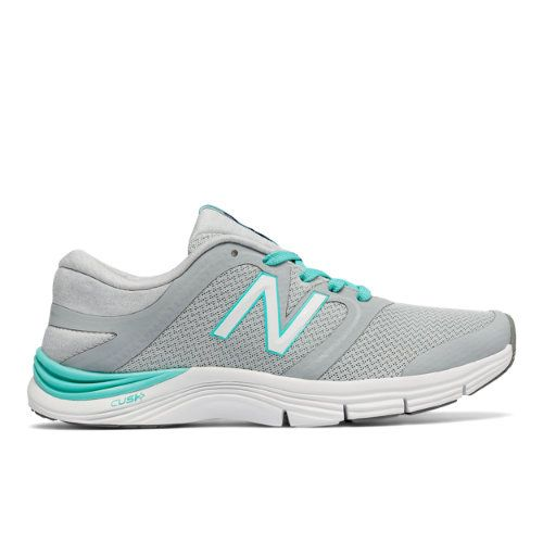 New Balance 711v2 Mesh Trainer Women's Cross-Training Shoes - Silver/Blue  (WX711AM2