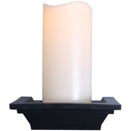 Northpoint Gm8278 Flameless Flickering LED Wall Sconce, White