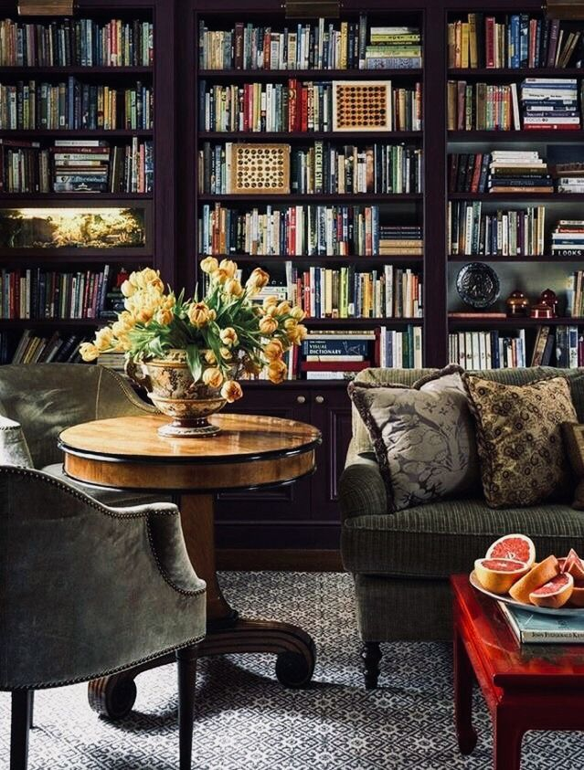 Interior Design Library Room: Home Library Design, Home Library, Interior