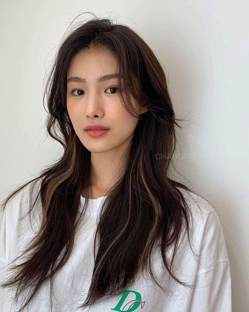 Pin By Leia On Two Block Haircut Korean Long Hair Medium Hair Styles Aesthetic Hair