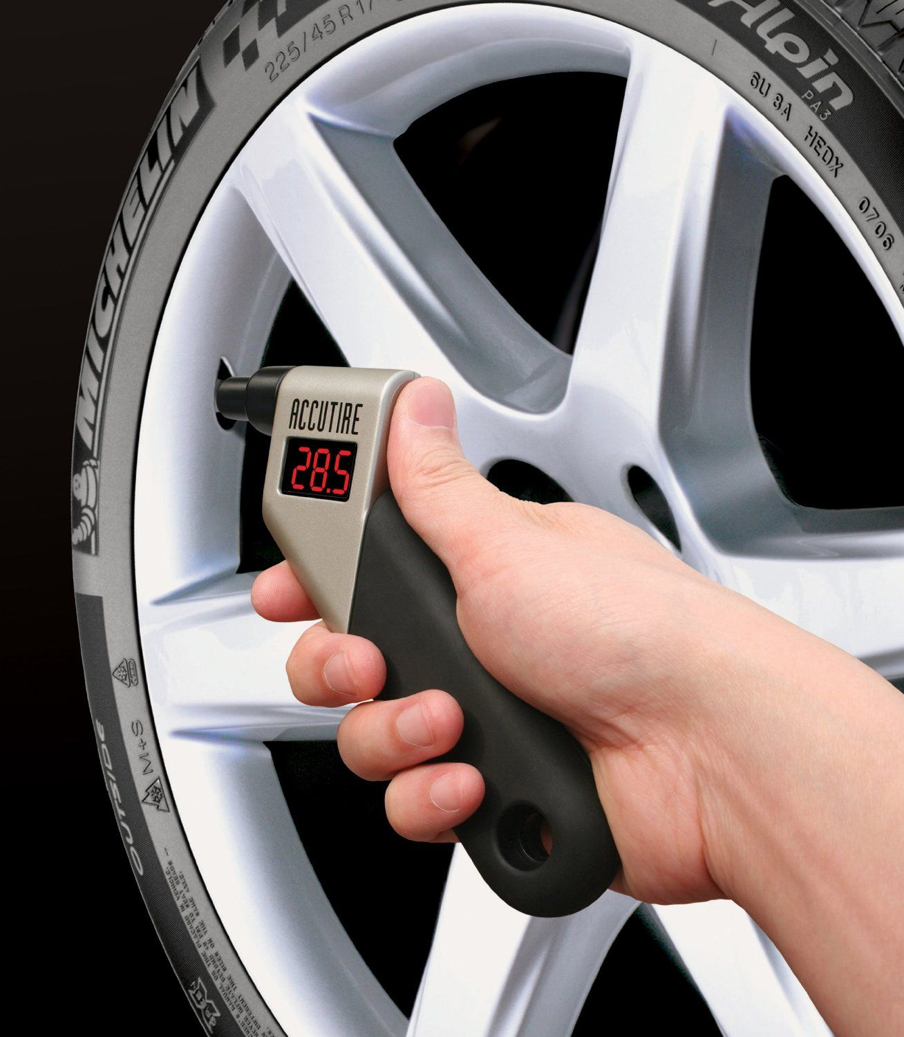 Accutire MS4021B Digital Tire Pressure Gauge