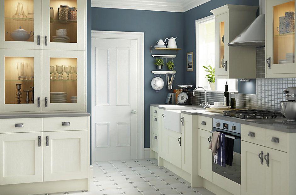 Cooke & Lewis Carisbrooke Ivory | Heritage Kitchens | Kitchen ...