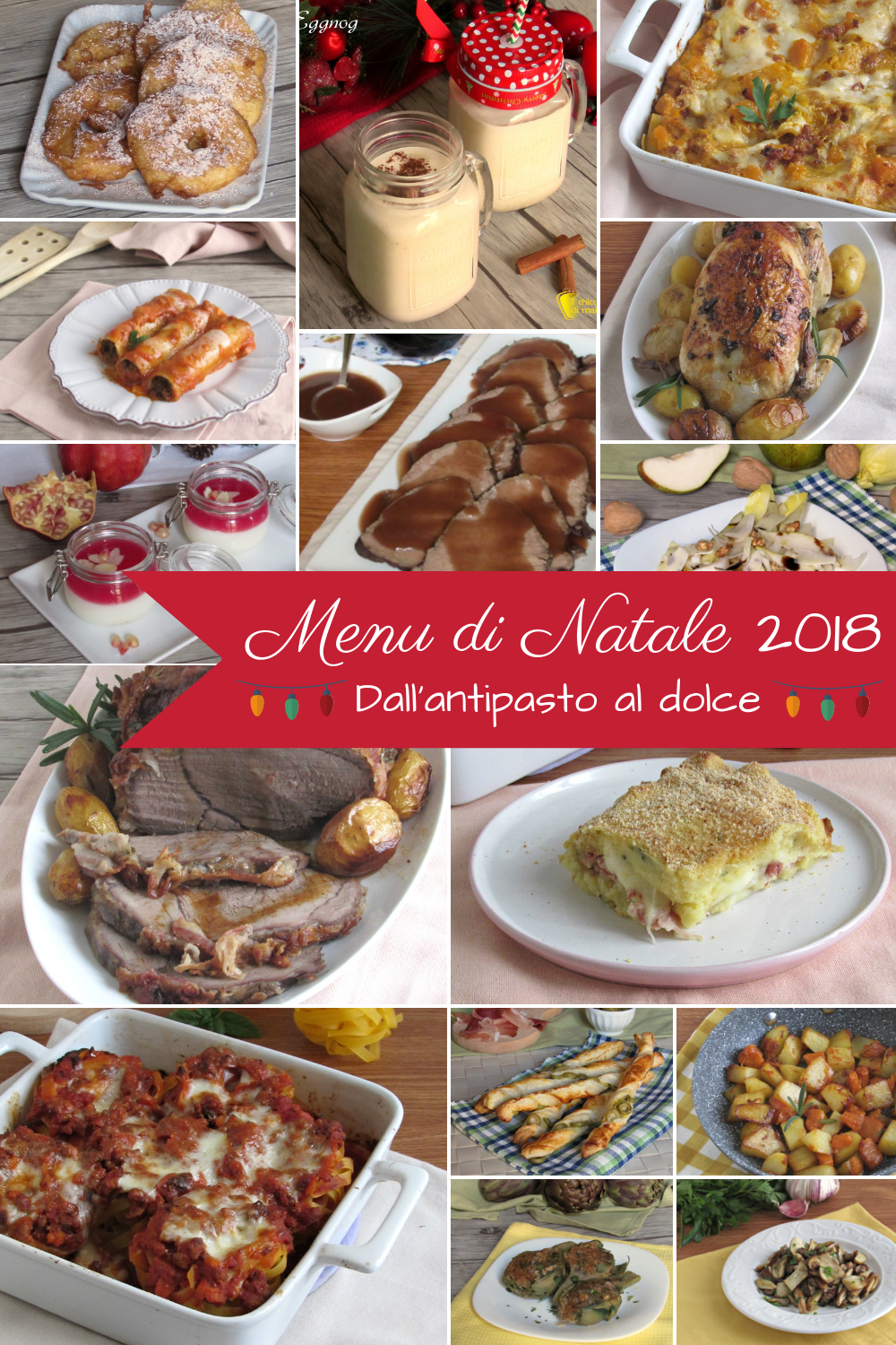 Antipasti Per Cena Di Natale.Menu Di Natale 2018 Navidad Christmas Food Pasta E Ethnic Recipes