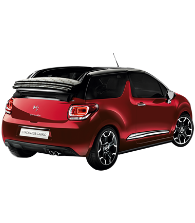 A Citroën DS3 Cabrio awaits the winner of the Base VJ