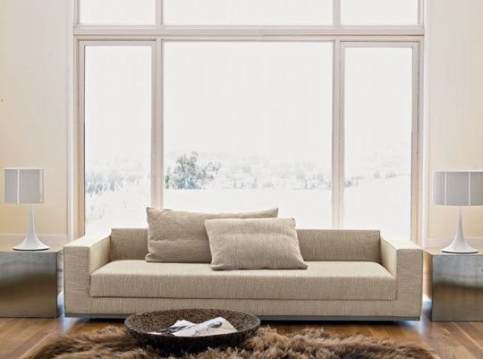 Modern Sectional Sofas Design Within Reach Havana Sleeper Sofa opens to twin bed for sleeping loft