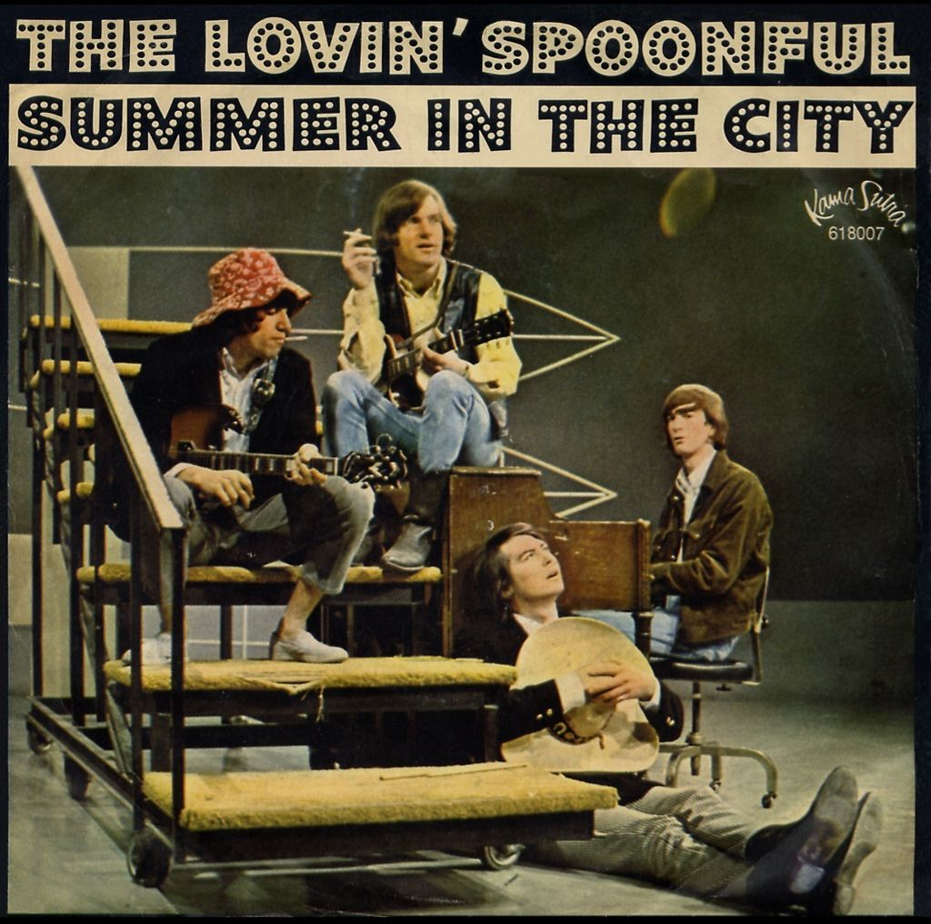 The Lovin Spoonful Summer In The City 1966 Lp Oldies Music Music Memories The Lovin Spoonful