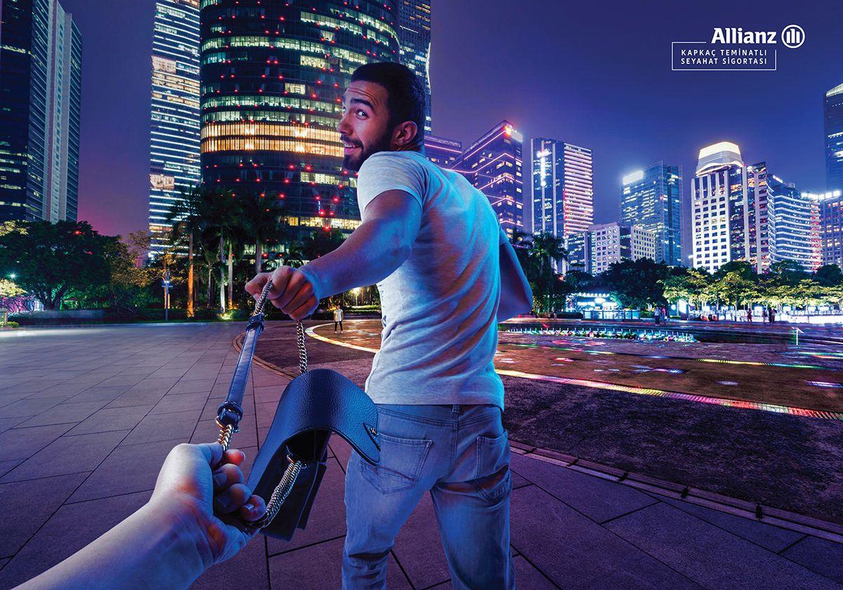 Allianz travel insurance on behance travel insurance