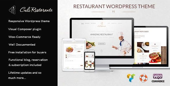 90+ Best Restaurant WordPress Themes to Create a Responsive ...