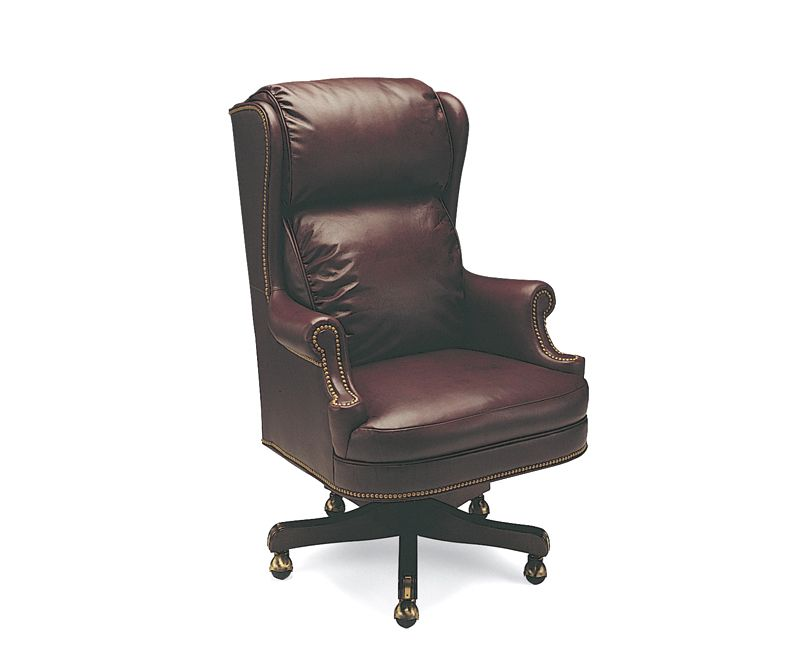 Extra Tall Judges Leather Swivel Tilt Chair